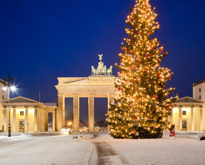 Brandenburger Tor im Advent
