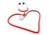 Stethoscope heart.