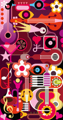 Abstract Music Background © danjazzia