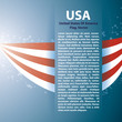Background with USA stripes and text space