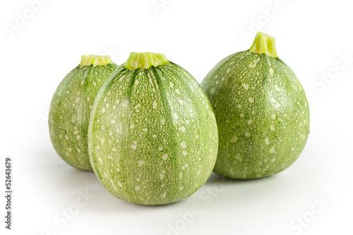 Tre zucchini