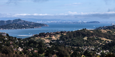 Views from down to San Francisco Bay