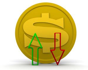 Изменение курса американского доллара
