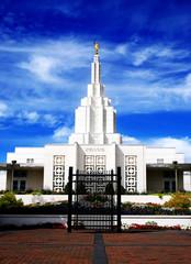 Mormon Temple Idaho Falls