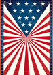 Poster of us flag