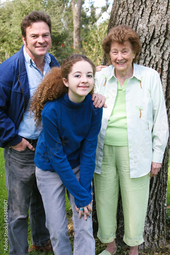 Family Portrait with Grandma