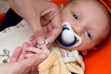Baby verarzten