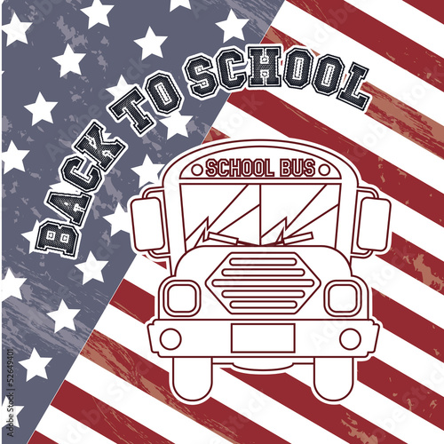 flag back to school