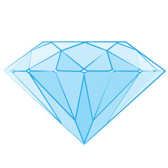 Diamond logo, luxury logotype