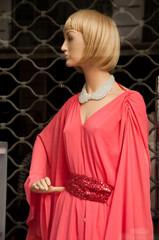 Vitrine mode glamour