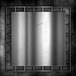 Grunge metal and concrete background