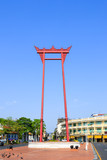 The giant swing (Sao Ching Cha) in Bangkok, Thailand