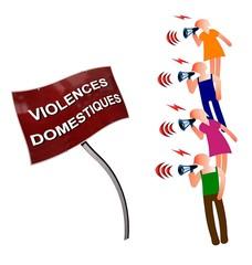 Militer contre les violences domestiques