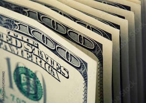 $100 dollar bills