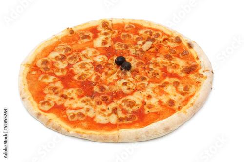 sliced  Pizza mozzarella