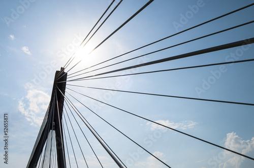Świętokrzyski bridge, Warsaw, Poland
