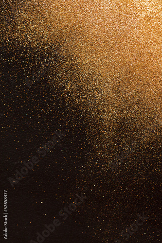 Keuken foto achterwand Metal gold background