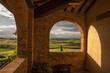 sguardo sulla campagna toscana,Italia