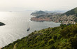 Panoramic view of Dubrovnik city