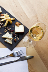 Fromage, plateau, vin, bistrot, cave, chai, verre, repas