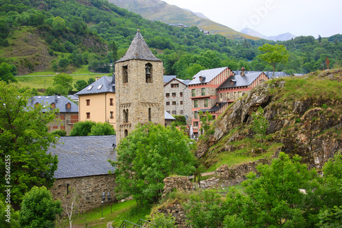 Romanesque church of Sant Joan de Boi in Vall de Boi, Spain