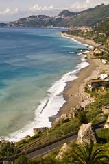 Bucht von Taormina - Sizilien - Ostküste