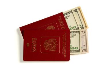 russian passport and us dollars