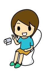 トイレと女性