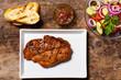 Schweinesteak mit Chimichurri-sauce