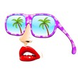 Summer Holiday Fashion Sunglasses-Occhiali da Sole alla Moda