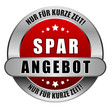 5 Star Button rot SPARANGEBOT NFKZ NFKZ