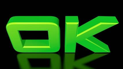 3D green OK