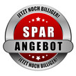 5 Star Button rot SPARANGEBOT JNB JNB