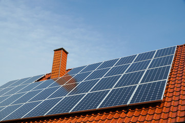 Photovoltaik, Dachmontage