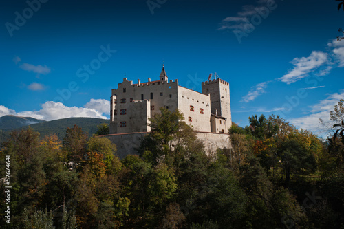Brunico Castle. Brunico in South Tyrol External,Italy