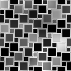 Metallic tiles. Seamless background.