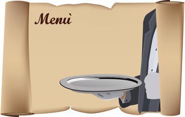 pergamena menù
