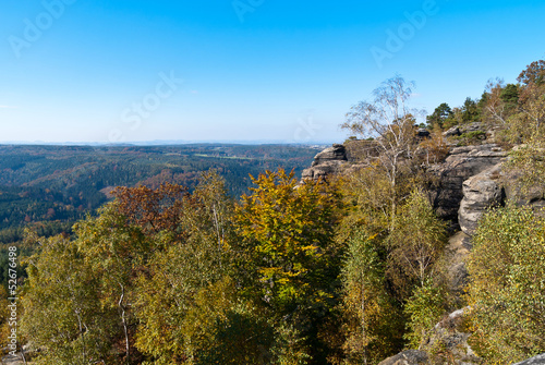 Automn colors in Saxon Switzerland