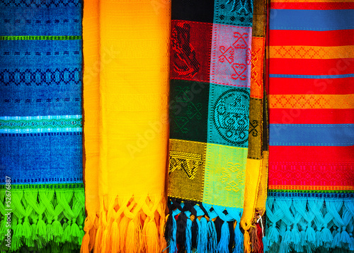 Traditional mexican neckerchief