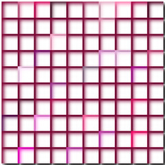 Karomuster rot weiß, neutraler web Hintergrund