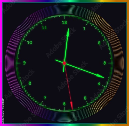 colored watches laser