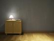 Dresser and lamp