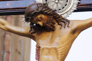 Holy Christ, Procession of 3rd May in Monreale, Sicily,