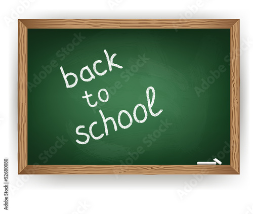 Vector blackboard green