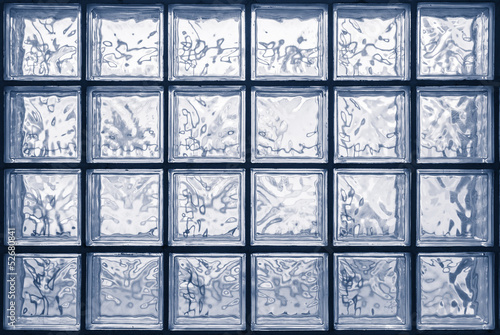 glass block wall - 52680841