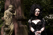 Model Gesicht - Atropa Bella Donna Südfriedhof Leipzig