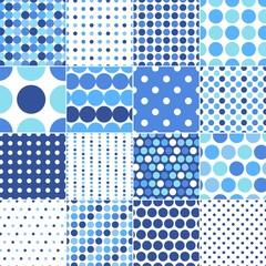 seamless retro dot pattern print