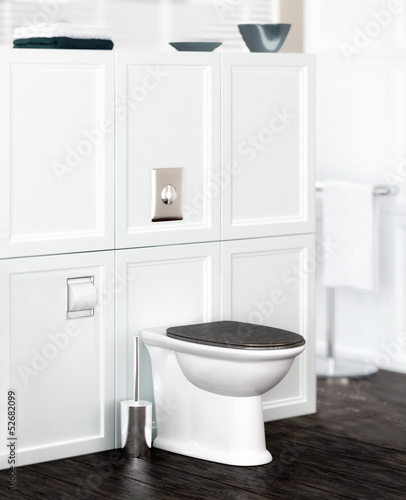 Toilette in classical design