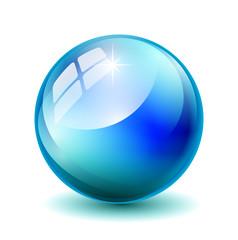 Blaue Kugel