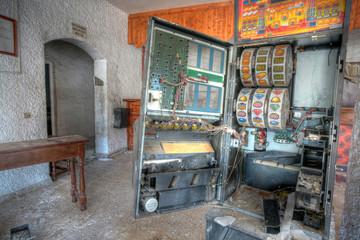 Slot. Abandoned hostel.